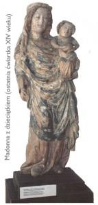 Figura Madonny z Dzieciątkiem (Matki Boskiej Cieślińskiej).