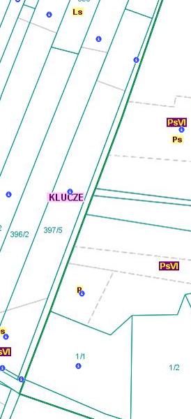 Przebieg granicy pomiędzy obszarami wsi Cieślin i Kwaśniów Dolny (CKd/4).