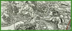 """""""Topografičeskaâ karta Carstva Pol'skago = Topograficzna karta Królestwa Polskiego = Carte topographique du Royaume de Pologn"""". Topograficzna karta Królestwa Polskiego albo Mapa Kwatermistrzostwa. (1839-1843)."""