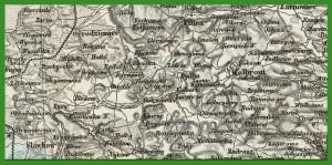 """""""(Sheet IV) General - Karte Des Öesterreichischen Kaiserstaates. Mit Einem Grossen Theile Der Angrenzenden Lander"""" (1856)."""