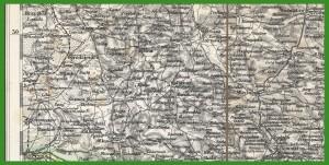 """""""General-Karte von Central-Europa 1:300 000"""" (1873)."""