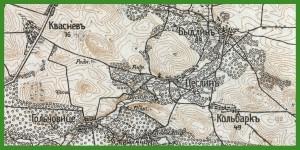 """""""Новая Топографическая Карта Западной России"""" 1:84 000 (1880 - ca1935) ( 1914)."""