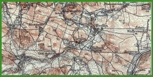 """""""Karte des Westlichen Russlands 1:100 000"""" (1919)."""