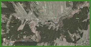 """Mapa satelitarna Cieślina"" (2014)."