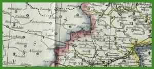 """""""Ost und West Galizien nach den neusten beobachtungenen"""" (1805)."""