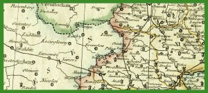 """""""Ost und West Galizien nach den neusten beobachtungenen"""" (1809)."""