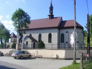 Kościół parafialny w Cieślinie.