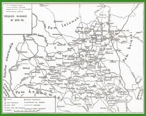 """""""Region olkuski w XVII w.""""."""