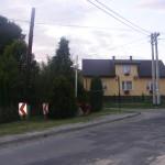 Cieślin - Krzyż w rejonie skrzyżowania ulicy Jurajskiej z ulicą Polną