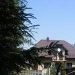 Cieślin - Widok na budynek przy ulicy Zdrojowej