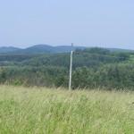Cieślin - Widok na wieś z Góry Golczowskiej