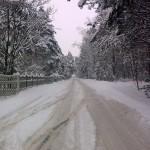 Ulica Zdrojowa zimą - 16.02.2010 (1)