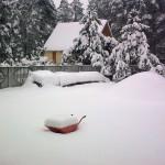 Ulica Zdrojowa zimą - 16.02.2010 (2)
