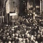Pogrzeb śp. ks. Jana Opałacza - 04.01.1950 (1)