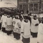 Pogrzeb śp. ks. Jana Opałacza - 04.01.1950 (2)