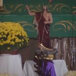 Figurka Jezusa Zmartwychwstałego