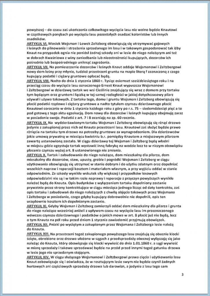 Kontrakt kupna i sprzedaży lasów - 11/23.08.1859 r. (3).