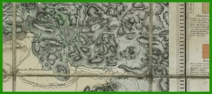 Mapa geologiczna Śląska i Zagłębia Dąbrowskiego (1860).