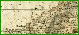 """""""Mapa West-Galizien (1799)""""."""