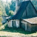Niestniejące obecnie pozostałości domu przy ulicy Jurajskiej, należącego do Franciszka Dąbrowskiego i rodziny Kamionka (zdjęcie z przełomu XX / XXI w.).