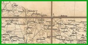 General-Karte des königreiches Galizien herzogthumes Bukowina (1868).