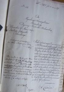 Indult pro semper - Kaplica w Cieślinie 06.05.1847 r.
