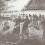 ks. M. Dubiel - Egzekucja mieszkańców Poręby Dzierżnej (1946)