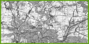 Wojskowa Mapa Topograficzna (1985).