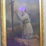 """ks. M. Dubiel - """"Św. Izydor"""" [Poręba Dzierżna - kościół]"""