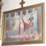 """ks. M. Dubiel - """"Droga Krzyżowa (Stacja I)"""" [Cieślin - kościół]"""