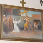 """ks. M. Dubiel - """"Droga Krzyżowa (Stacja II)"""" [Cieślin - kościół]"""