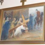 """ks. M. Dubiel - """"Droga Krzyżowa (Stacja III)"""" [Cieślin - kościół]"""