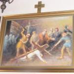 """ks. M. Dubiel - """"Droga Krzyżowa (Stacja IX)"""" [Cieślin - kościół]"""