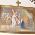 "ks. M. Dubiel - ""Droga Krzyżowa (Stacja VI)"" [Cieślin - kościół]"