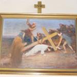"""ks. M. Dubiel - """"Droga Krzyżowa (Stacja VII)"""" [Cieślin - kościół]"""