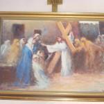 """ks. M. Dubiel - """"Droga Krzyżowa (Stacja VIII)"""" [Cieślin - kościół]"""