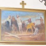 """ks. M. Dubiel - """"Droga Krzyżowa (Stacja X)"""" [Cieślin - kościół]"""