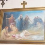 """ks. M. Dubiel - """"Droga Krzyżowa (Stacja XI)"""" [Cieślin - kościół]"""