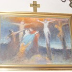 """ks. M. Dubiel - """"Droga Krzyżowa (Stacja XII)"""" [Cieślin - kościół]"""