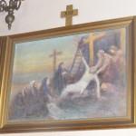 """ks. M. Dubiel - """"Droga Krzyżowa (Stacja XIII)"""" [Cieślin - kościół]"""