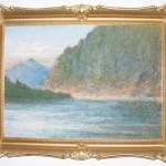 ks. M. Dubiel - Górski widok z jeziorem [19]