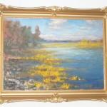 ks. M. Dubiel - Kwitnące kaczeńce na jeziorze [21]