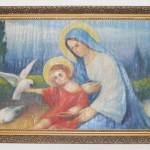 ks. M. Dubiel - Matka Boża z Dzieciątkiem Jezus karmiącym gołębie [29]