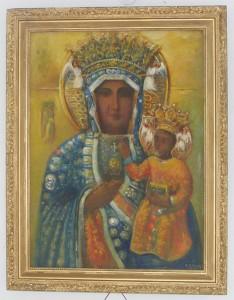 """ks. M. Dubiel - """"Matka Boska Częstochowska"""" [Kolbark]"""