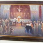 """ks. M. Dubiel - """"Pasterka partyzancka 1944"""" [Kalwaria Zebrzydowska - Sanktuarium Pasyjno-Maryjne, klasztor oo. Bernardynów]"""