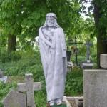"""ks. M. Dubiel - """"Rzeźba 3"""" [Poręba Dzierżna - cmentarz parafialny]"""