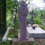 """ks. M. Dubiel - """"Rzeźba 4"""" [Poręba Dzierżna - cmentarz parafialny]"""