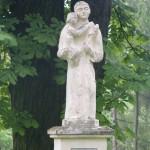 """ks. M. Dubiel - """"Rzeźba 6"""" [Poręba Dzierżna - cmentarz parafialny]"""
