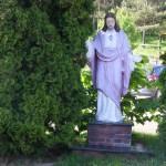 """ks. M. Dubiel - """"Rzeźba Jezus Chrystus"""" [Cieślin - rejon kościoła]"""
