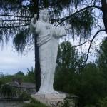 "ks. M. Dubiel - ""Rzeźba Pan Jezus 2"" [Poręba Dzierżna - rejon plebanii]"